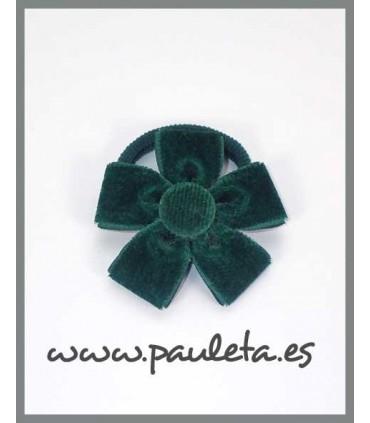 Coleteros bonitos de terciopelo verde oscuro P1588-44