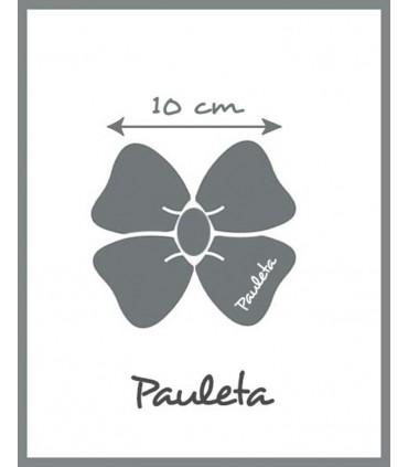 Medidas de Diademas de niña rosa pétalo P5614-26