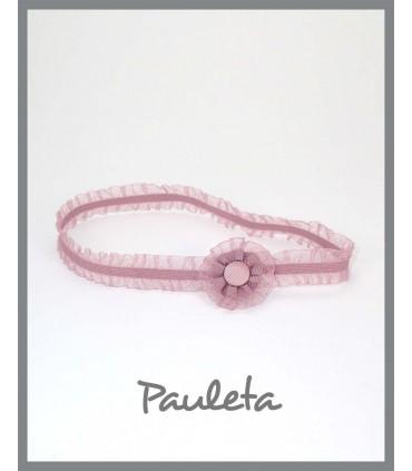 cinta pelo bebe rosa empolvado P6037-61
