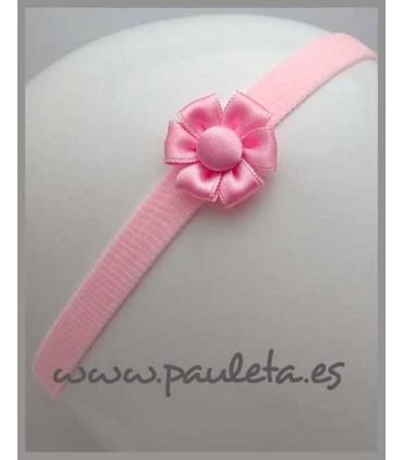 Diademas de bebe color rosa P3102-23