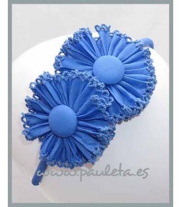 Diadema niña azul imperial 5368-09
