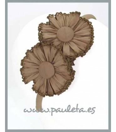 Diadema niña camel 5368-46