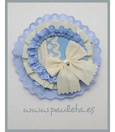 Tocados azul celeste para niñas PES7009-05-02
