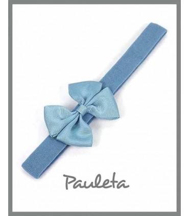 Diademas bebe online azul plomo P3125-70
