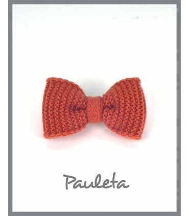 Lazo lana pelo color teja P7626-78