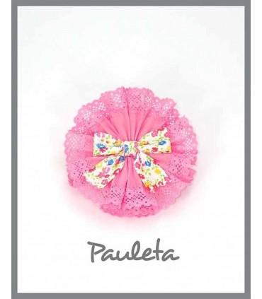 Adorno pelo rosa pétalo para niña P7613-26