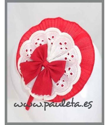 Diademas niña grandes roja P5599-31