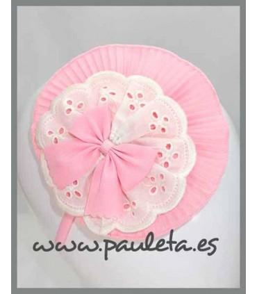 Diademas niña grandes rosa pastel P5599-23
