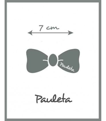 La medida es de 7 cm de la Diademas de bebe burdeos con lazo trenzado de algodón P3641-19