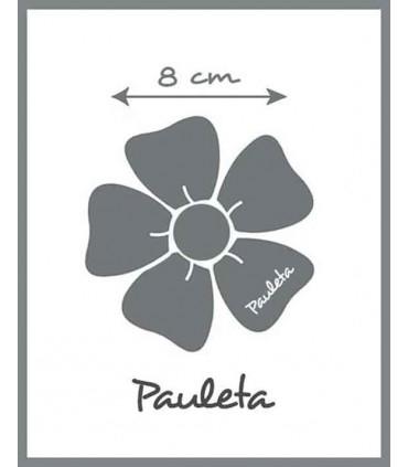 8 cm mide aprox el adorno de puntilla de la diadema crudo bebe P4427-03