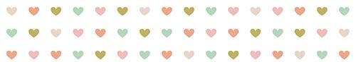 Corazones de colores Pauleta