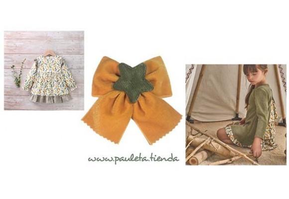 Mostaza el color de otoño en Moda Infantil